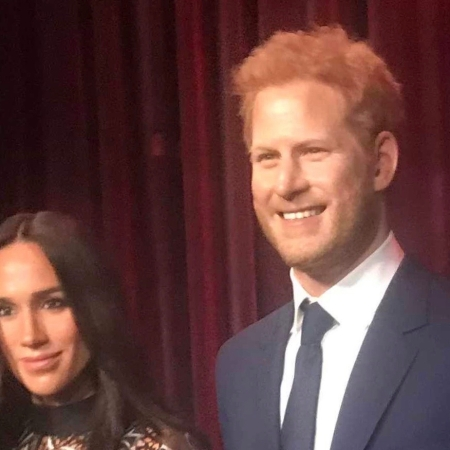 Wax Figures of the Royal couple